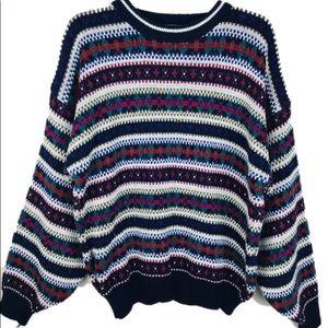Vintage Sweater Cozy Knit